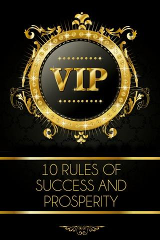 RULES OF SUCCESS PROSPERITY