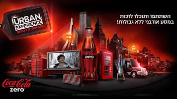 Screenshot of Coca-ColaZERO URBAN EXPERIENCE