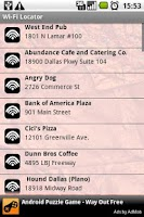 Screenshot of Wi-Fi Locator (Free)