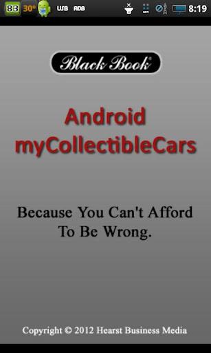 myCollectibleCars