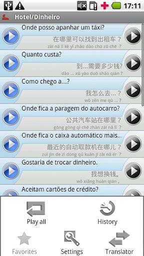 iSayHello ポルトガル語 ヨーロッパ - 中国語