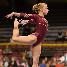 W. Gymnastics  - Michigan State at Minnesota by David Drufke - Sports & Fitness Other Sports ( dusti russell, ncaa, sports, sport, gopher gymnastics, university of minnesota, big ten, gymnastics, women's gymnastics )