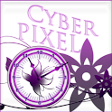 Royal Purple Clock icon