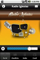Screenshot of Radio Iglesias