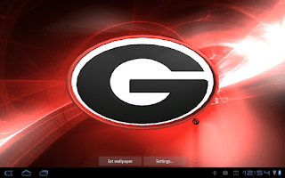 Screenshot of Georgia Bulldogs Pix & Tone