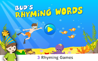 Screenshot of Bud's Rhyming Words - Lite