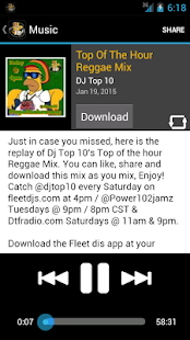 DJ Top 10 - screenshot