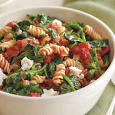 Broccoli Rabe, Feta and Mint Pasta