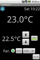 Screenshot of Radio Wifi Thermostat CT-30