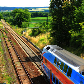 cz train Opava  by Michal Valenta - Transportation Trains (  )