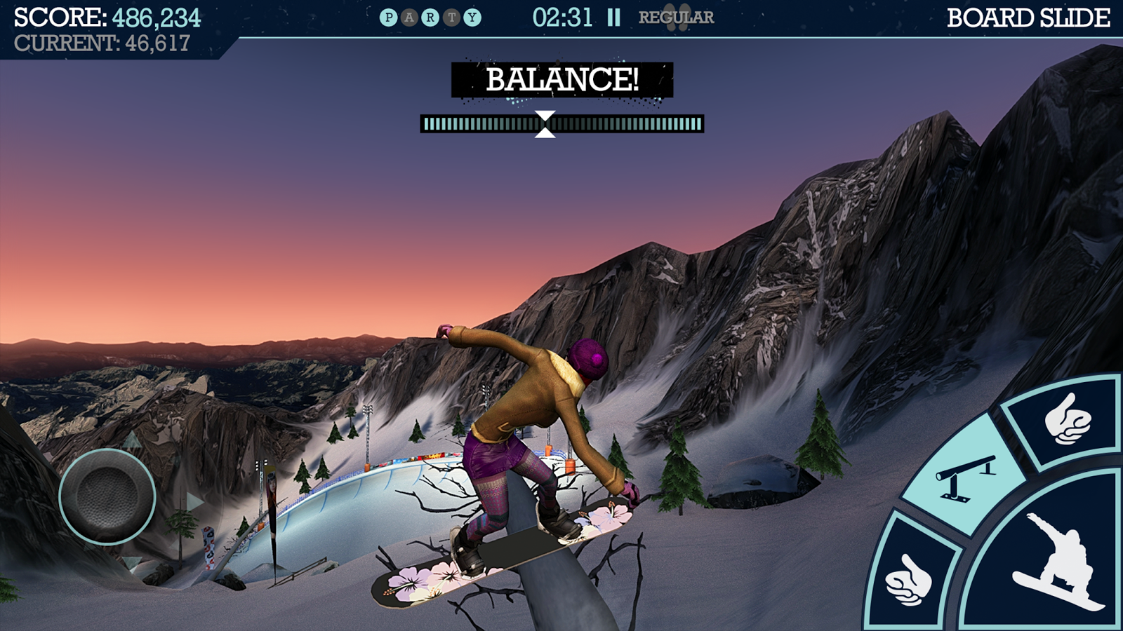 Snowboard Party Screenshot 4