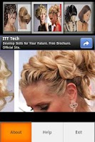 Screenshot of Dance Party Hairstyles