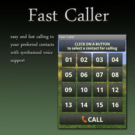 Fast Caller (no ads) LOGO-APP點子