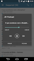 Screenshot of JW Podcast (português)