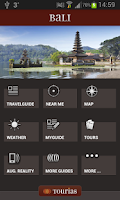 Screenshot of Bali Travel Guide - Tourias