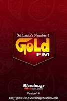 Screenshot of Gold FM Mobile