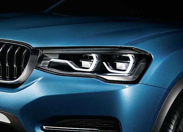 BMW X4 Concept fron grille