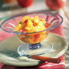 Pineapple-Mango Salad