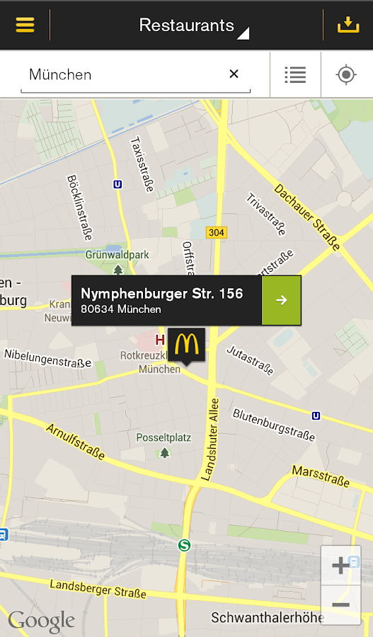 McDonald's Deutschland Screenshot 2