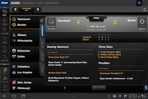 Screenshot of ScoreMobile Tablet - OBSOLETE