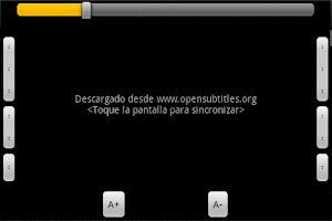 Screenshot of CineSub
