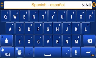 Screenshot of SlideIT Spanish Pack