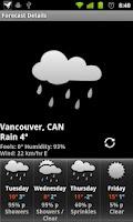 Screenshot of Billboard Digital Weather Widg