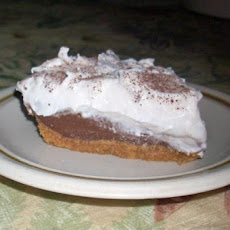 Haupia Chocolate Pie (Lighter Version)