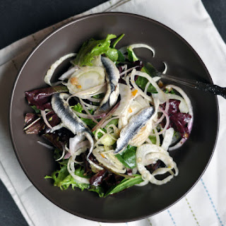 Spanish Anchovy, Fennel and Preserved Lemon Salad
