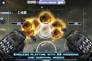 Screenshot of HEAVY GUNNER 3D