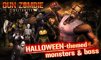Screenshot of GUN ZOMBIE : HALLOWEEN