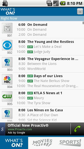 tv-listings-for-android-tv24 for android screenshot
