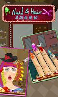 Screenshot of Nail & Hair Salon