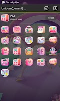 Screenshot of Unicorn GO Launcher Theme