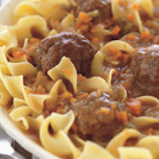 Hungarian Meatball Stew