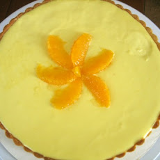 Fresh Orange Cream Tart