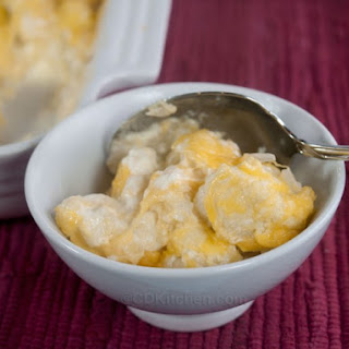 Baked Cauliflower and Cheese