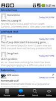 Screenshot of Cherokee Forum