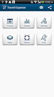 Screenshot of Travel Expense