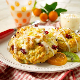 Pear Cranberry Scones