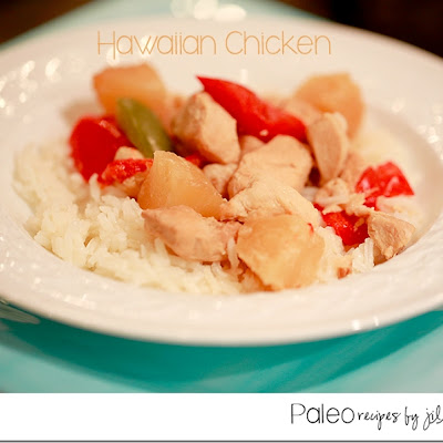 Hawaiian Chicken {Paleo Crock-Pot}