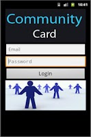 Screenshot of Community Card