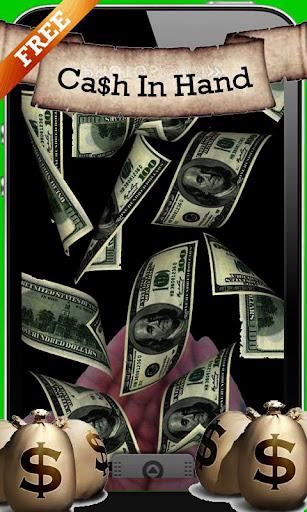 Cash In Hands Live Wallpaper