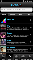 Screenshot of Tuba.FM - free music and radio
