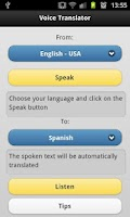 Screenshot of Voice Translator Pro