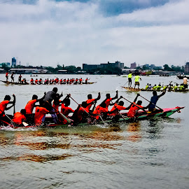 Urban Boat Race by Khoka Rahman - Sports & Fitness Watersports ( boat race )