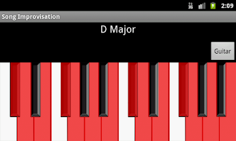 Screenshot of Song Improvisation