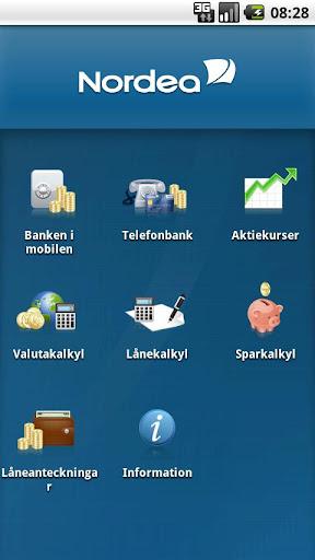 Nordeas mobilbank