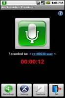 Screenshot of AndRecorder - Premium