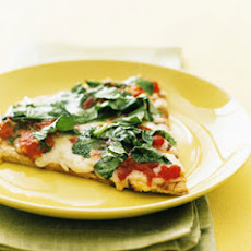 Margherita Pizza with Arugula